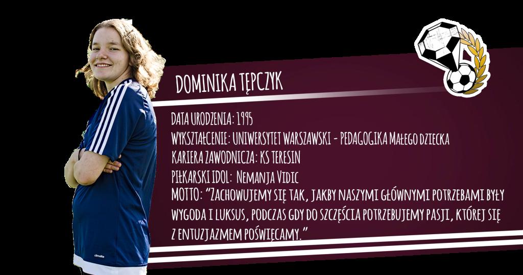 Szkółka piłkarska Diamonds Academy - Dominika Tępczyk