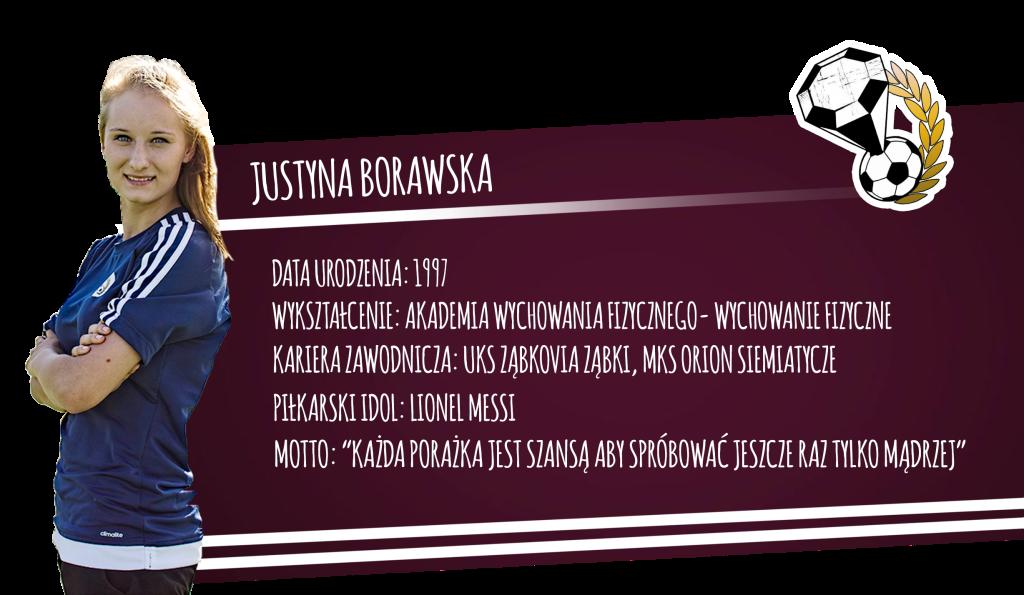 Szkółka piłkarska Diamonds Academy – Justyna Borawska